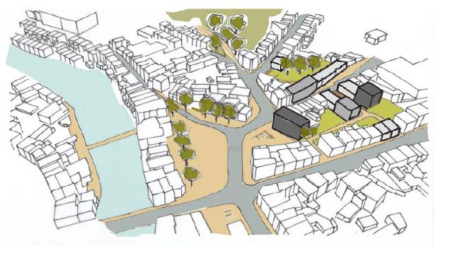 rénovation urbaine région wallonne